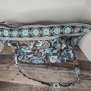 Vera Bradley Java  Miller Diaper bag blue